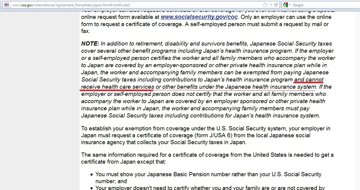 Us Japan Social Security Totalization Treaty You Must Enroll In