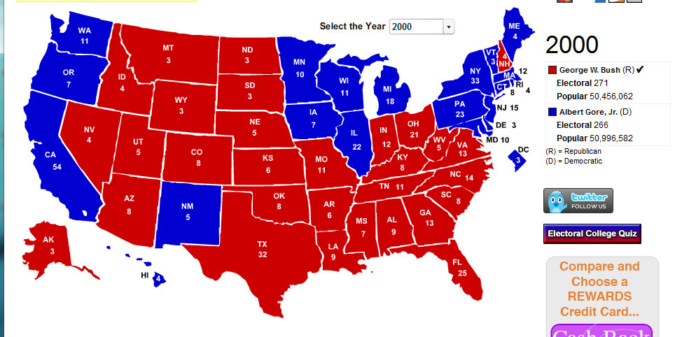 presidential election 2000 Why was the 2000 presidential election historically significant- the 2000 presidential election was a contentious race between george w bush and vice president al gore.